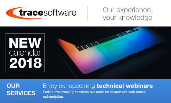 Technical webinars 2018 calendar